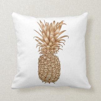 Espresso Pineapple Cushion