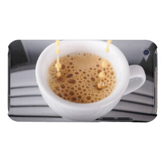 Espresso pouring into cup barely there iPod cases