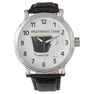 Espresso Time Watch