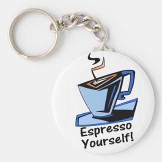 espresso-yourself keychain