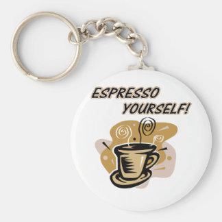 Espresso Yourself Keychains