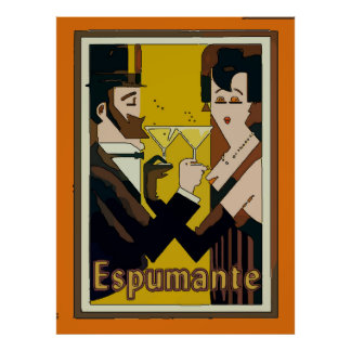 Espumante, Sparkling Wines, Poster