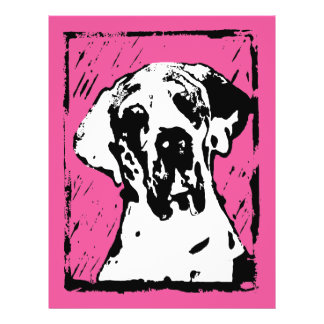 Esra Harlekin Great Dane 21.5 Cm X 28 Cm Flyer