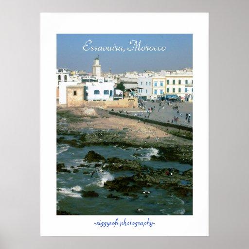 Essaouira, Morocco poster