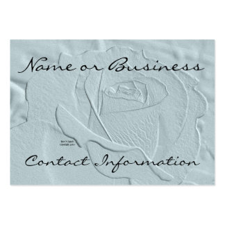 Essence of Rose Blue Green Business Card