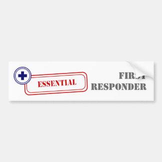 Essential • First Responder Bumper Sticker