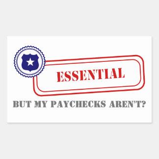 Essential • Law Enforcement Rectangle Sticker