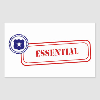 Essential • Law Enforcement Sticker