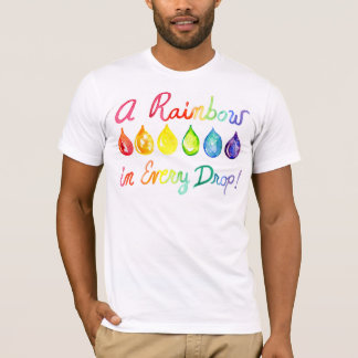 Essential Oils LGBT Pride Rainbow shirt