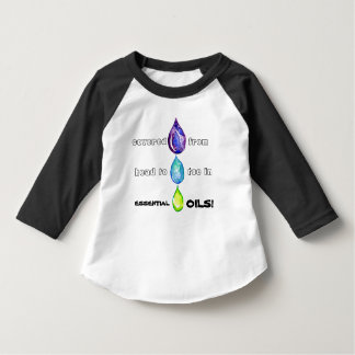 Essential Oils multi drop head to toe shirt