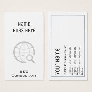"""Essential"" SEO Consultant Business Cards"