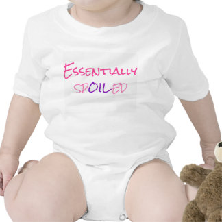 Essentially Spoiled Infant Outfit Pink/Purple Bodysuits