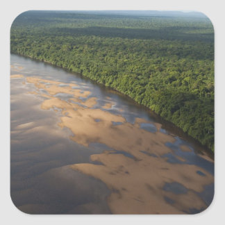 Essequibo River, longest river in Guyana, and 3 Square Sticker