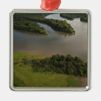 Essequibo River, longest river in Guyana, and Christmas Ornament