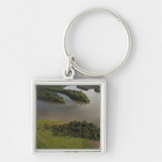 Essequibo River, longest river in Guyana, and Key Ring