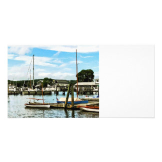 Essex CT Marina Personalized Photo Card