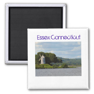 Essex CT Windmill Square Magnet