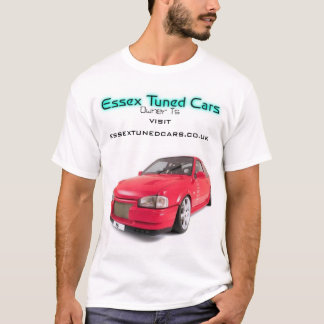 Essex Tuned Cars P edition T-Shirt