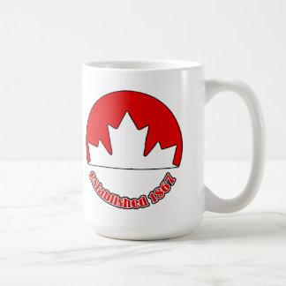 Est. 1867 Canada Day Mug