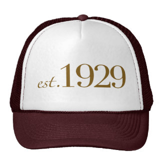 Est 1929 cap