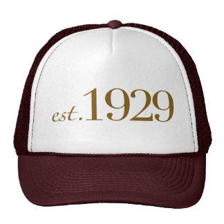 Est 1929 hat
