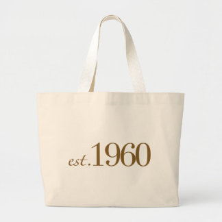 Est 1960 canvas bags