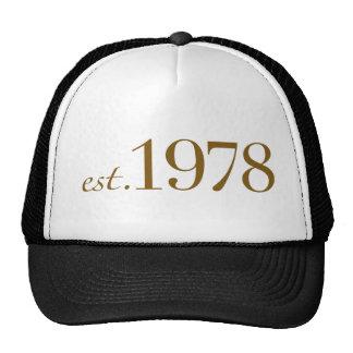 Est 1978 cap