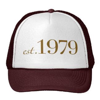 Est 1979 mesh hats