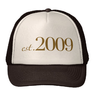 Est 2009 trucker hat