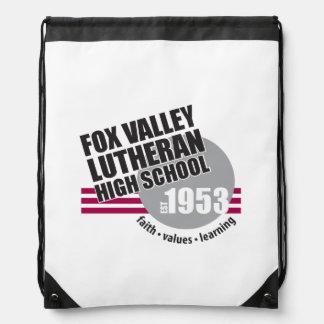 Est in 1953 - Fox Valley Lutheran High School Drawstring Backpack