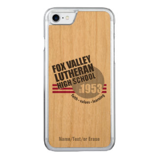 Est in 1953 - Fox Valley Lutheran High School Carved iPhone 7 Case