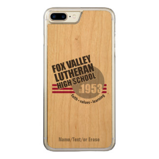 Est in 1953 - Fox Valley Lutheran High School Carved iPhone 7 Plus Case