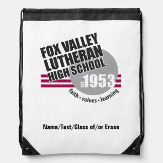 Est in 1953 - Fox Valley Lutheran High School Drawstring Backpacks