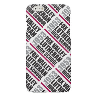 Est in 1953 - Fox Valley Lutheran High School Glossy iPhone 6 Case