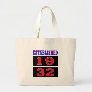 Established 1932 jumbo tote bag