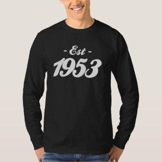 established 1953 - birthday t shirts