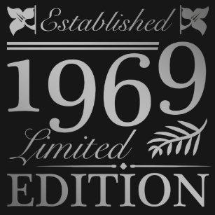 Established 1969 50th Birthday T Shirt