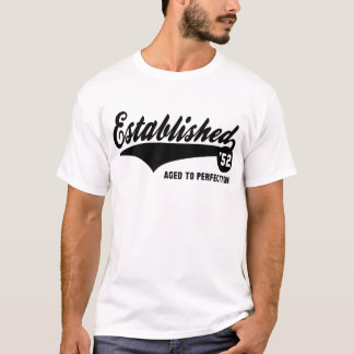 Established 52 - Birthday shirt
