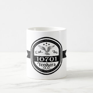 Established In 10701 Yonkers Coffee Mug