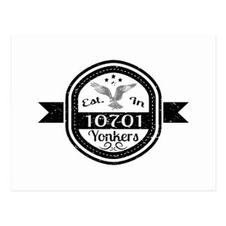 Established In 10701 Yonkers Postcard