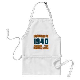 Established In 1940 Standard Apron