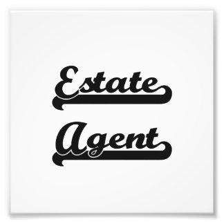 Estate Agent Classic Job Design Photo