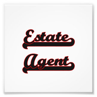 Estate Agent Classic Job Design Photo Print