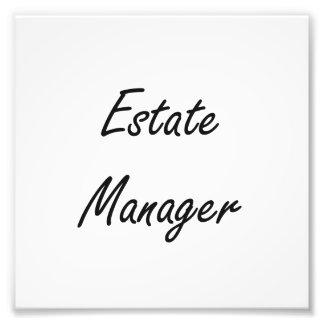 Estate Manager Artistic Job Design Art Photo