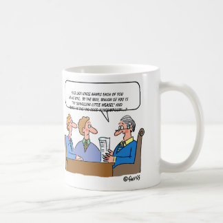 Estate Probate Lawyer Executor Cartoon Funny Coffee Mug