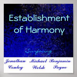 Estblishment of Harmony Poster