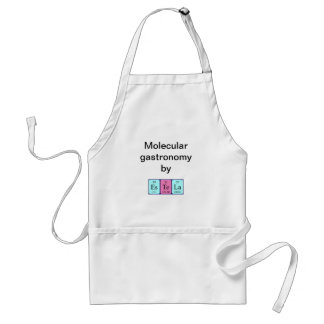 Estela periodic table name apron