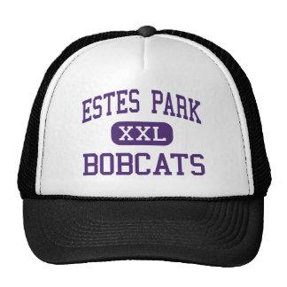 Estes Park - Bobcats - High - Estes Park Colorado Trucker Hats