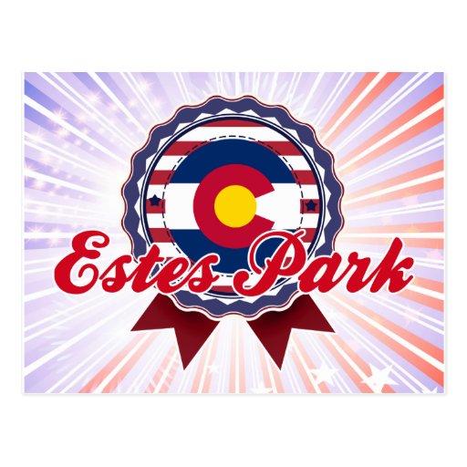 Estes Park, CO Post Card