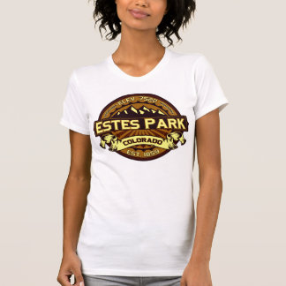 Estes Park Color Logo Intense Brown Shirts